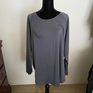 NWT Torrid size 3 gray active long sleeve top